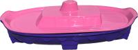 Песочница-бассейн Doloni Корабль 03355/1 (фиолетовый/розовый) -
