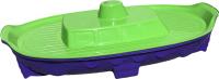 Песочница-бассейн Doloni Корабль 03355/2 (фиолетовый/салатовый) -