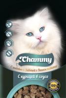 Корм для кошек Chammy С курицей в соусе (100г) -