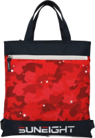 Школьный рюкзак Sun Eight SE-2721 (темно-синий/красный) -