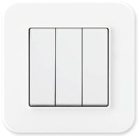 Выключатель Gunsan Eqona 01409300-150160 (белый) -