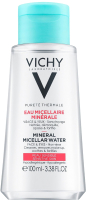 Мицеллярная вода Vichy Purete Thermale с минералами для чувствит. кожи лица глаз и губ (100мл) -