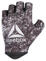 Перчатки для фитнеса Reebok RAGB-13634 (М, белый/черный) -