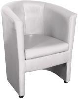 Кресло мягкое Lama мебель Рико (Teos Milk) -