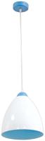 Потолочный светильник Элетех Сканди дуэт НСБ 01-60-131 / 1005253137 (белый/голубой) -