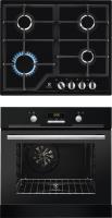 Комплект встраиваемой техники Electrolux EZB52410AK+GPE263MB -