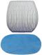 Чехол для стула Comf-Pro Speed Ultra (голубой велюр) -