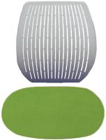Чехол для стула Comf-Pro Speed Ultra (салатовый велюр) -