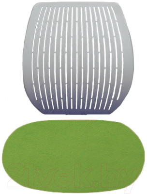 Чехол для стула Comf-Pro Speed Ultra (салатовый велюр)