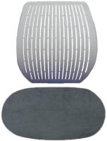 Чехол для стула Comf-Pro Speed Ultra (серый велюр) -