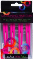 Набор зажимов для волос FRAMAR Super Sectioners Clip Pink (4шт) -