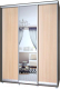 Шкаф Modern Роланд Р46 + Р26 (венге/дуб млечный) -