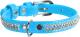 Ошейник Collar Waudog Glamour 33072 (голубой) -