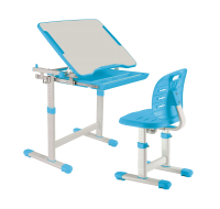 Парта+стул FunDesk Piccolino III (голубой) -