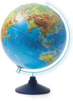 Глобус интерактивный Globen Физико-политический рельефный / 13200291 -