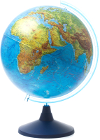 Глобус Globen Физико-политический с подсветкой на круглой подставке / 13200264 -