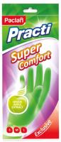 Перчатки хозяйственные Paclan Practi Super Comfort (M) -