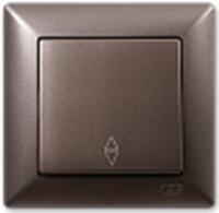 Выключатель Gunsan Visage 01283500-150107 (антрацит) -
