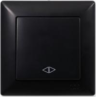 Выключатель Gunsan Visage 01 28 34 00 150 135 (черный) -