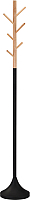 Вешалка для одежды Halmar W58 (черный/натуральный) -