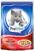 Корм для кошек Prevital Beef in jelly (100г) -
