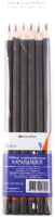 Набор простых карандашей Darvish DV-3246-6 (6шт) -