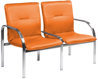 Секция стульев Nowy Styl Staff-2 Chrome (EV-2) -