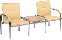 Секция стульев Nowy Styl Staff-2T Chrome (Eco-1) -