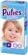 Подгузники детские Pufies Sensitive Maxi+ 9-16кг (50шт) -