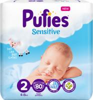 Подгузники детские Pufies Sensitive Mini 4-8кг (80шт) -