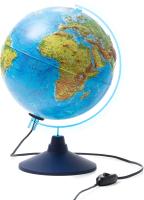 Глобус Globen Двойная карта рельефный с подсветкой / Ке022500195 -