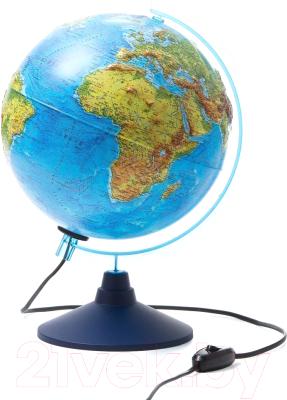 Глобус интерактивный Globen Физико-политический интерактивный с подсветкой / INT12500286