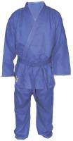 Кимоно для дзюдо Atemi AX7 (р-р 40-42/145, синий) -