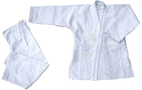 Кимоно для дзюдо Atemi AX7 (р-р 24-26/125, белый) -