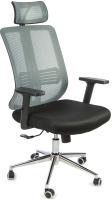 Кресло офисное Calviano Caro (серый/черный) -