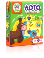 Настольная игра Vladi Toys Лото. Ферма / VT2100-01 -