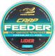 Леска монофильная Fishing Empire Lider Carp Plus Feeder Clear 0.22мм 300м / СL-022 -