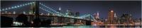Скиналь Оптион Город. Бруклинский мост 3 (стекло, 2800x600x3) -