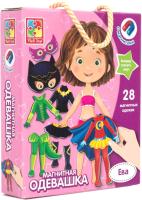 Развивающая игра Vladi Toys Магнитная одевашка. Ева / VT3702-04 -