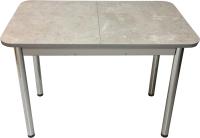 Обеденный стол Solt Мила 3 (бетао/ноги круглые хром) -
