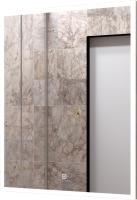 Зеркало Континент Frame White Led 60x80 -