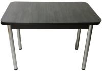 Обеденный стол Solt СТД-08 (северное дерево темное/ноги круглые хром) -