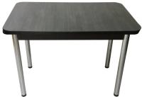Обеденный стол Solt СТД-10 (северное дерево темное/ноги круглые хром) -