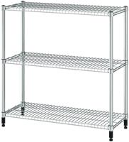 Стеллаж металлический Ikea Омар 105x36x94 (1 секция ) -