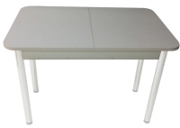 Обеденный стол Solt СТД-09 (серый/ноги круглые серые) -