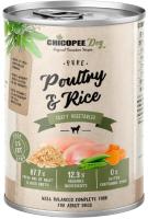 Корм для собак Chicopee Adult домашняя птица с рисом / H5095 (400г) -