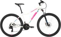 Велосипед STARK Viva 26.2 D 2020 (16, белый/розовый/голубой) -