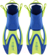 Ласты Aqua Sphere Zinger JR FA2613141LV1 (L, ярко-зеленый/светло-синий) -