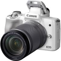 Беззеркальный фотоаппарат Canon EOS M50 Kit 18-150mm f/3.5-6.3 IS STM / 2681C042 (белый) -