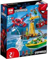 Конструктор Lepin Marvel Человек-Паук — сражение с Доктором Осьминогом / 07116 -